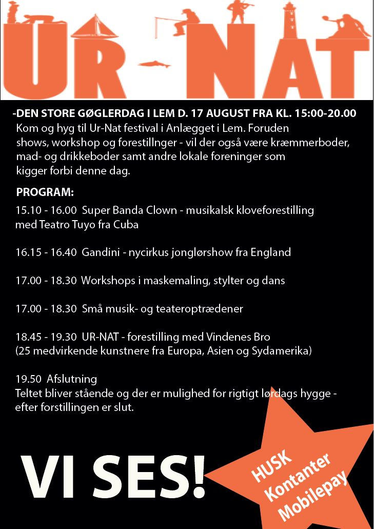 UR-NAT Gøglerdag 17. august