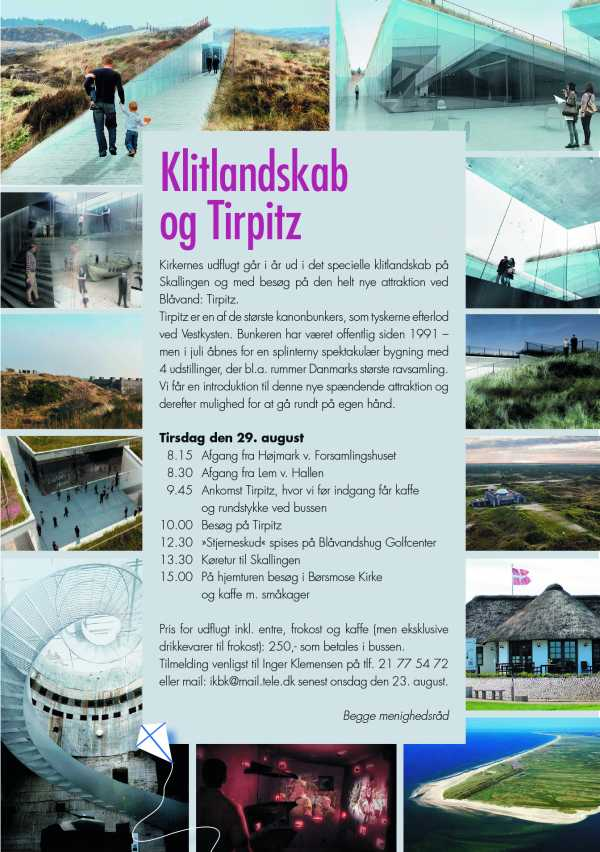 Klitlandskab og Tirpitz
